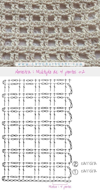 Gráficos de Crochê: Biquíni para o Verão