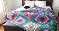 Colcha de Crochê para o Inverno: Passo a Passos, Receitas e Inspirações