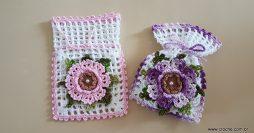 Como Fazer Crochê: Porta Sabonete Fácil para Decorar seu Banheiro