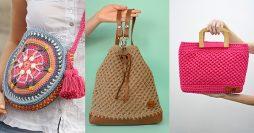 Como Fazer Bolsa de Crochê: Passo a Passos +56 Receitas Gratuitas